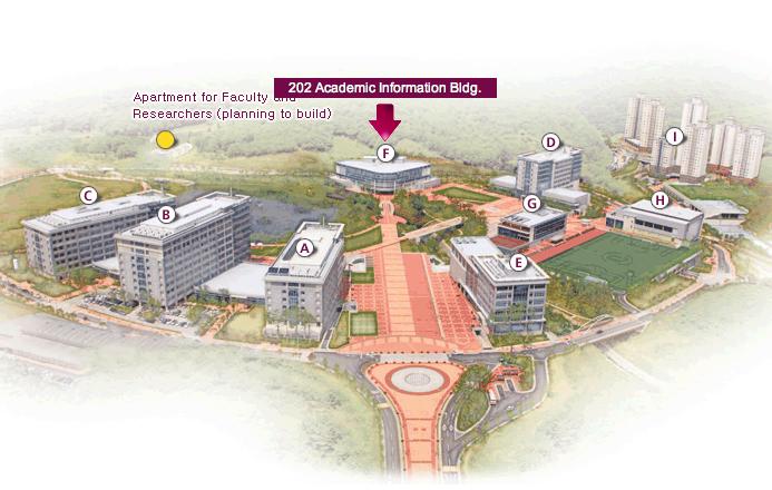 UNIST Campus Map